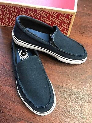 570392683b3fb6 VANS MENS BALI SF Slip on Hemp Black Marshmallow Skate Surf shoes ...