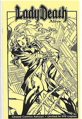 Lady Death Alive Ashcan Mint Limited