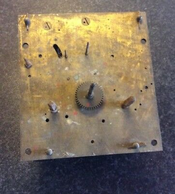 8 Day Grandfather Long Case Clock movement for spares or repair