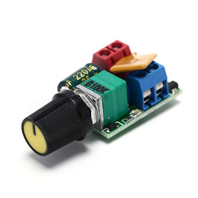 DC 5A PWM Speed Controller 3V-35V Speed Control Switch LED Dimmer YF