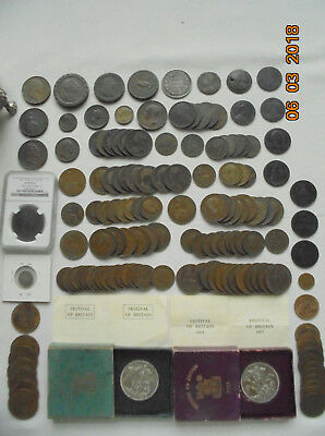 Royal Arms Casket of British 1797 Coins, D&H Token Lot Treasure Chest Collection