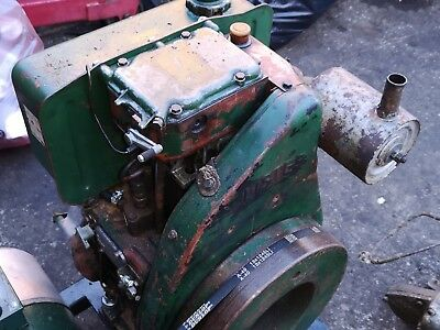 Lister LT1 Diesel Stationary Engine. Just Serviced and Running beautifully.