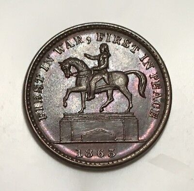 PCWT - Fuld 174/272a Choice UNC - George Washington Equestrian Monument in NY