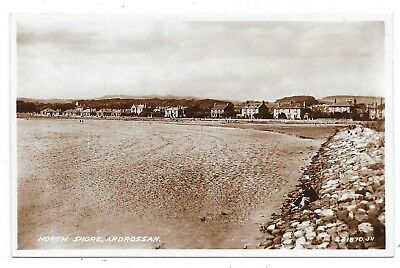 Superb Real Photographic Postcard Of North Shore Ardrossan Ayrshire Scotland