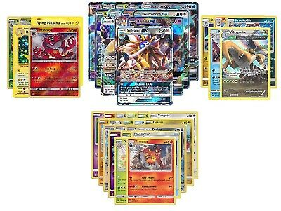 Authentic Pokemon Cards Pack 20 Common/Uncommon 10 Rares & Holos & Guaranteed EX