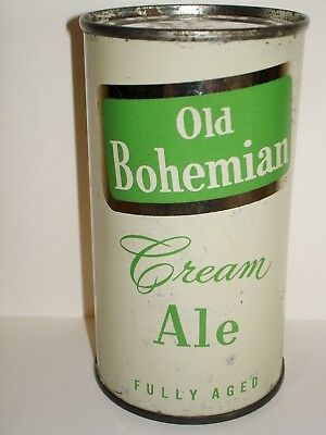OLD BOHEMIAN ALE Flat Top  Beer Can A305