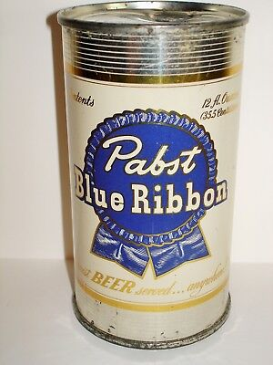 "PABST BLUE RIBBON ""MILWAUKEE"" Flat Top  Beer Can A311"