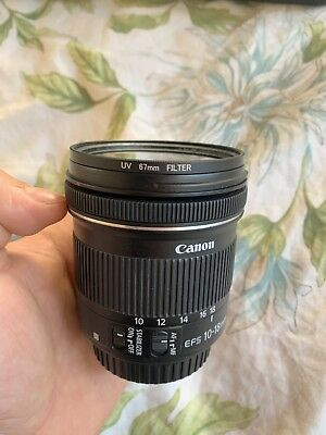 CANON EF-S 10-18mm F/4.5-5.6 IS STM LENS. WIDE ANGLE LENS