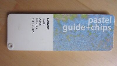 PANTONE Pastel Guide Farbfächer + Chips coated/uncoated in einem Fächer 1998