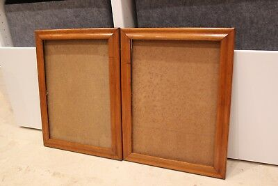 PAIR Vintage Antique Maple Picture Frames for Oil paintings, Tapestry or mirror