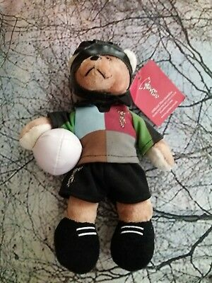 Official Harlequins Rugby Beanie Teddy Mascot
