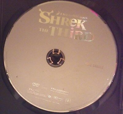 Shrek the Third (DVD, 2007, Full Screen Version) Disc Only! No case.