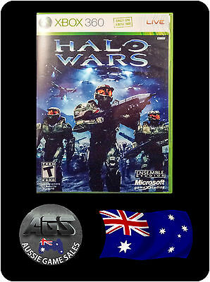 Halo Wars (Xbox 360 + Xbox One) VGC - FAST POST - OZ SELLER - SHOOTER