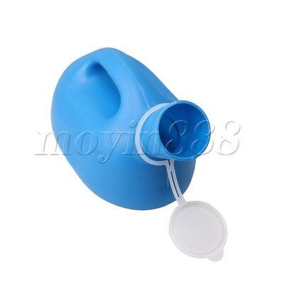 Blue Large Capacity Men's Urinal Bedpans for Men for Patient and Outdoor