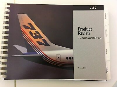 Brochure BOEING B737-600/-700/-800/-900 Product Review