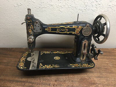 Vintage ZENITH sewing machine MWH Co. (Marshall Wells Harware) # R1738981 ~ RARE
