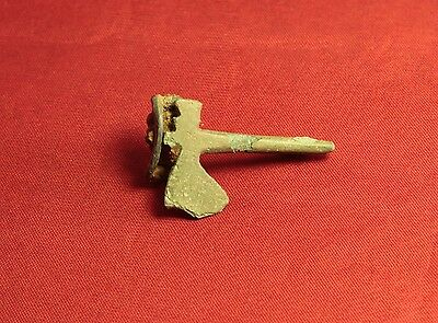 Rare Ancient Roman Axe Fibula or Brooch