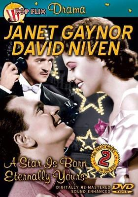 A Star is Born / Eternally Yours (Double Feature DVD) David NIven, Janet Gaynor