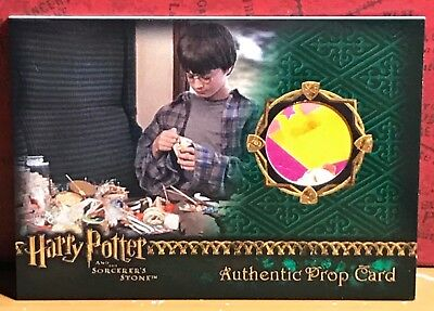 Harry Potter Sorcerer's Stone Prop card Wizard Candy #165
