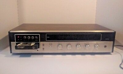 Vintage Jcpenney Solid State 8 Track Stereo Tape Player #683-1740