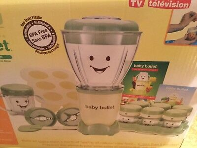 Magic Bullet Baby Bullet Baby Food Making System Blender