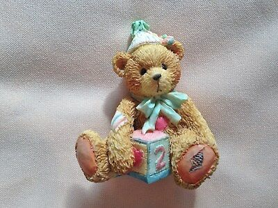 "adorable Cherished Teddy ""Two Sweet Two Bear"" birthday bear for 2 yr old"
