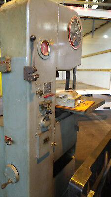 "Doall Vertical Bandsaw 1612-0 16"" Variable Speed"