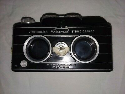 Vintage View Master Personal Stereo Camera with Case