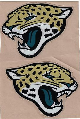 JACKSONVILLE JAGUARS Full Size FOOTBALL HELMET DECALS WITH BUMPERS