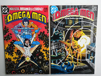 Omega Men 3 10 1st & Early Lobo DC Comics Keith Giffen Low Grade