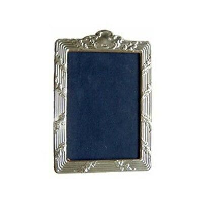 Sterling Silver Picture Frame.  Hallmarked Silver Regency Style Photo Frame