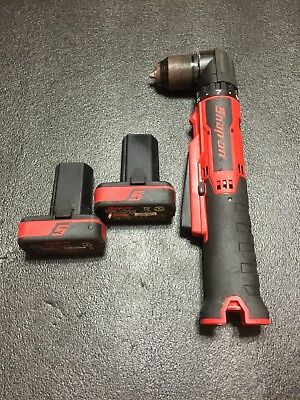 Snap On Right Angle Drill With Two Batteries (no Charger) CDRR761