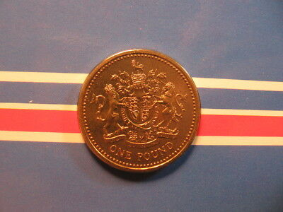 1 old world foreign coin GREAT BRITAIN pound 1983 KM933 UNC sealed 1st issue