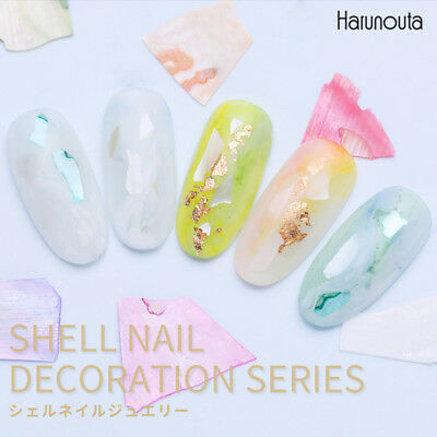 Harunouta Irregular Crushed Shell Decorations Nail Art Shell Paillette 12 Colors