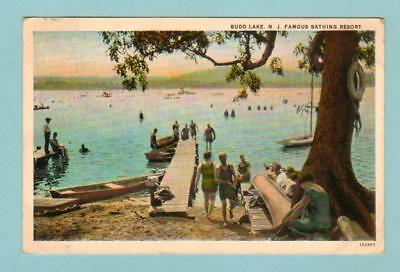 Budd Lake, Nj Famous Bathing Beach Resort 1920's