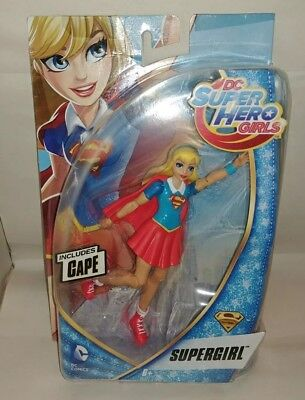 "DC Super Hero Girls Supergirl Action Figure 6"" New"
