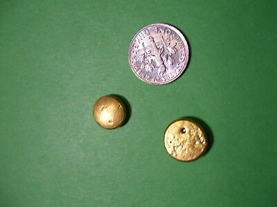 24k gold button,nuggets,