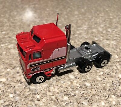 Vintage 1981 BJ and the Bear Diecast Kenworth Aerodyne Semi Truck by Yatming