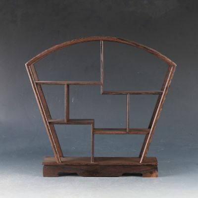Chinese Hardwood Handmade Collection Of Antiques Shelves