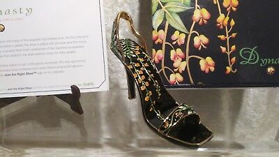 Just The Right Shoe Raine Dynasty NEW Numbered 375/3000 2003 Metal  25469 RARE