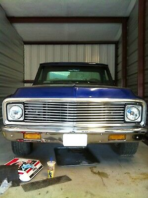 1971 Chevrolet C-10  Restored Chevy C10 with Custom Body Work and Aftermarket Additions