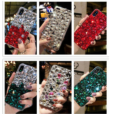 Lady Phone Case Rhinestone Bling Crystal Diamond Cover for iPHONE X/XS/XS Max/XR