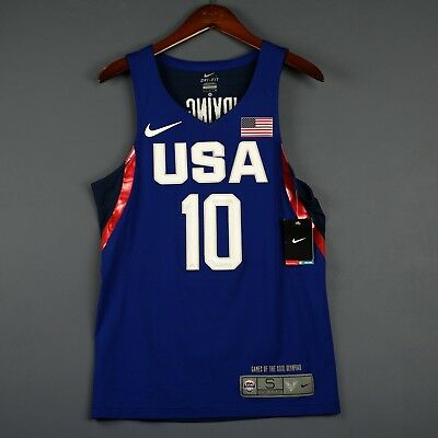 hot sale online 253c1 70dd8 100% AUTHENTIC KYRIE Irving Nike USA Olympics Jersey Size S Small 36 Mens