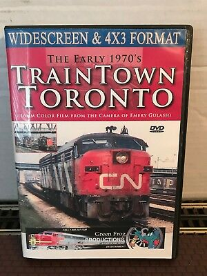 TrainTown Toronto DVD Set – Green Frog Productions – 1 Disc