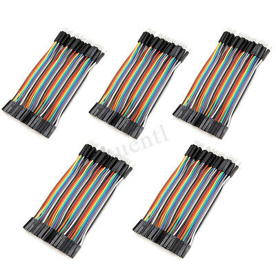80/120pcs 10cm Male To Female Jumper Cable Color Breadboard Solderless Jump