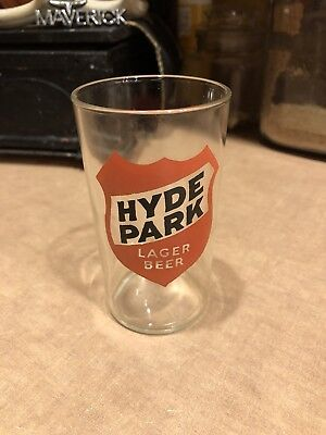Vintage Hyde Park Beer Glass - St. Louis, MO