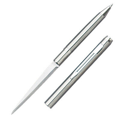 "Silver Ink Pen Knife - 2.25"" Stainless Steel Blade - 5002S"