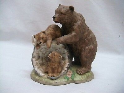"Home Interior Homco Beautiful""Curious Cubs"" Figurine"
