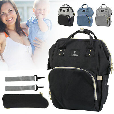 Mummy Maternity Baby Diaper Mat Bag Travel Backpack Nappy Organizer Nursing Tote