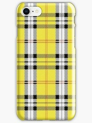 8b3b0b966fea wildflower yellow plaid emma chamberlain iPhone 6 7 8 X S Plus Case & Covers
